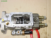 Assembly in pump housing