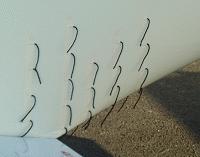fils de laine aile/fuselage